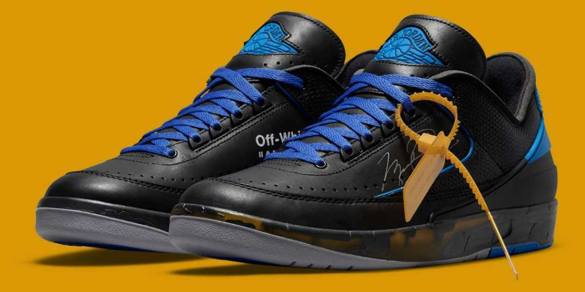DJ4375-004 Off-White x Air Jordan 2 Low will be released on November 12